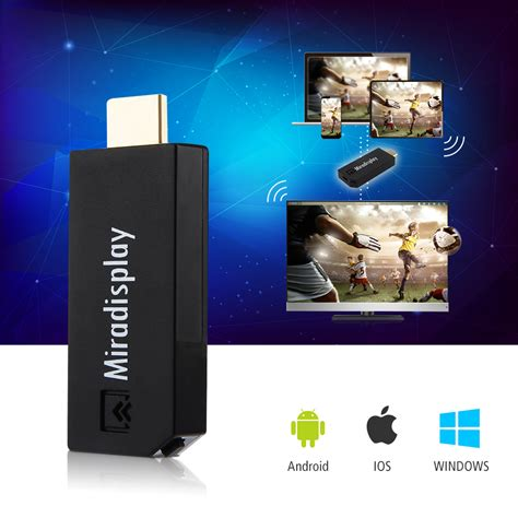 Chromecast Hdmi Media Player Limited 1 miradisplay tv dongle 2 4ghz wifi miracast airplay dlna