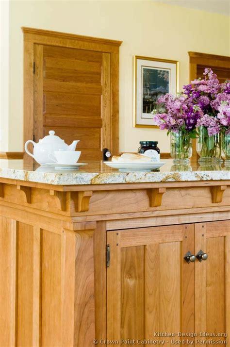 mission style kitchen island craftsman kitchen design ideas and photo gallery