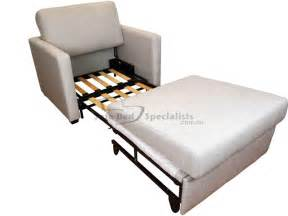 Chair Sofa Sleeper Chair Sofabed With Timber Slats Sofa Bed Specialists