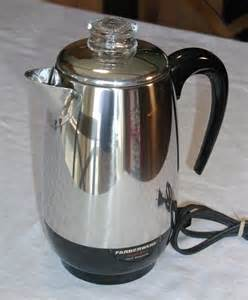 Clear Canisters Kitchen farberware superfast 8 cup percolator by sunsetsidevintage