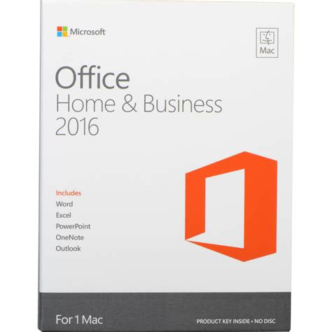 Microsoft Office Business Microsoft Office Mac Home Business 2016 Single User Concord Information Technology