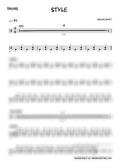 taylor swift style sheet music maroon five moves like jagger drum sheet music drumlab