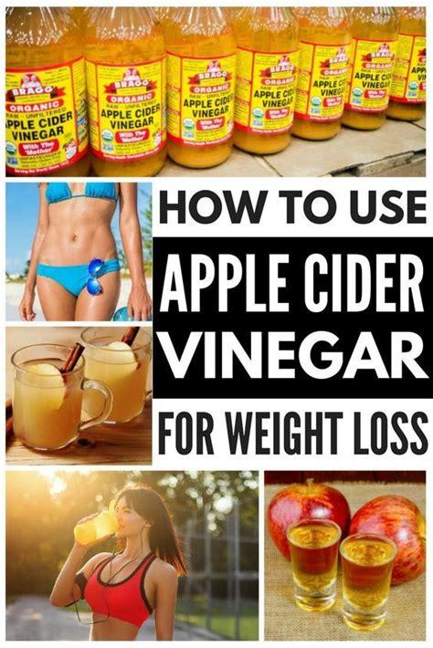 vinegar weight loss ideas  pinterest