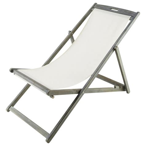 Chaise Longue Chilienne chaise longue chilienne pliante en acacia gris 233 e l 111