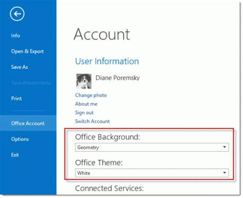 outlook 2013 change color office 2013 s color scheme