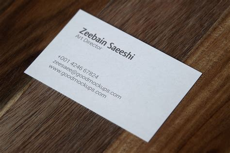 Sided Business Card Template Psd by Single Sided Business Card Choice Image Business Card