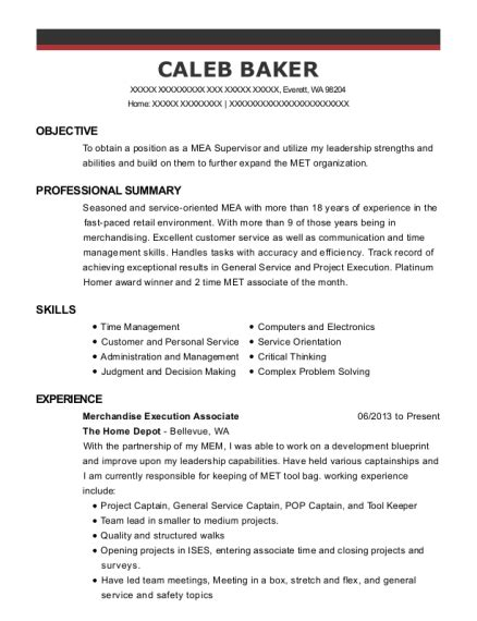 home depot designer job description home depot special services supervisor job description