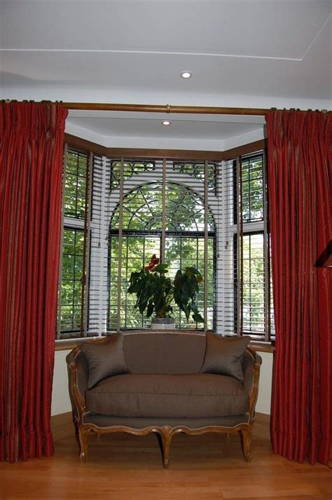 bay window curtain ideas bay window design creativity decor around the world