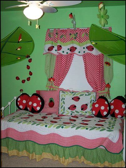 ladybug bedroom garden inspired girls rooms