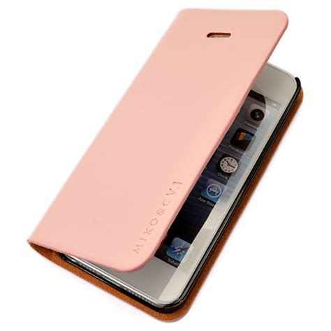 flip a photo on iphone apple iphone 5 g handmade genuine leather flip cover skin wallet pouch pink