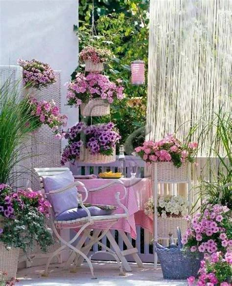 shabby chic backyard gardens