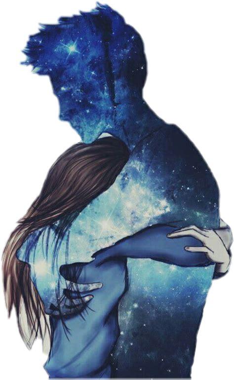 imagenes de amor tumblr parejas galaxy galaxia love tumblr blue pareja azul amor