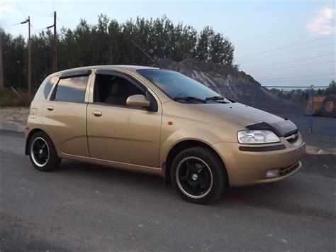 chevrolet aveo 2004 hatchback object moved