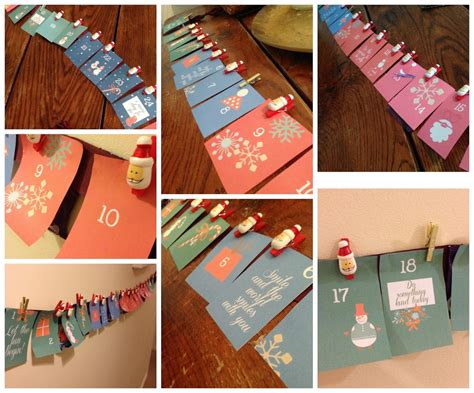 How To Make Handmade Calendar - how to make an easy handmade advent calendar