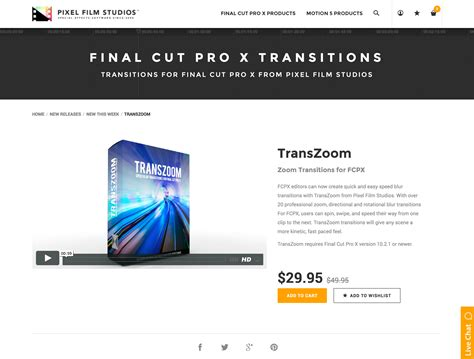 final cut pro zoom transition pixel film studios set to release transzoom for final cut