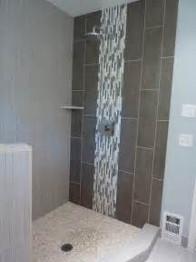 12x24 vertical tile shower wall tiles the accent wall of the shower