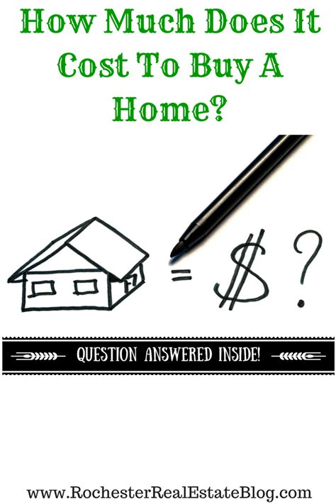 expenses of buying a house how much does it cost to buy a home