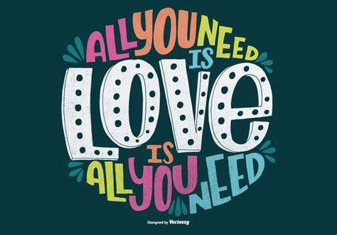 You Need Is all you need is quote vector