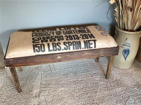 burlap bench cushion pallet bench with burlap cushion pallet furniture plans