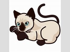 File:PEO-siamese kitten-0.svg - Wikimedia Commons Free Clipart Of Siamese Cats