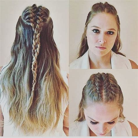 ronda rousey hairstyles 157 best images about ronda rousey on pinterest holly