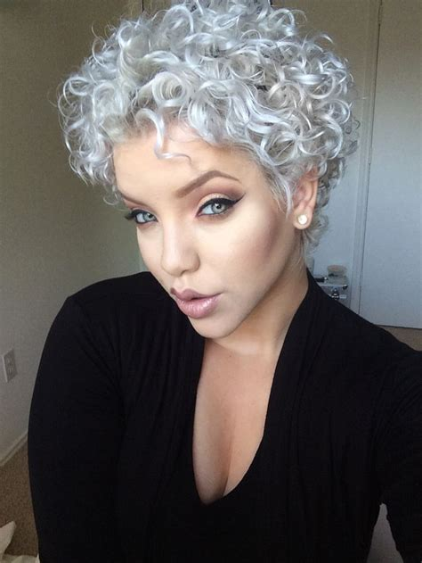 permed pixie 547 best images about shades of gray and white on