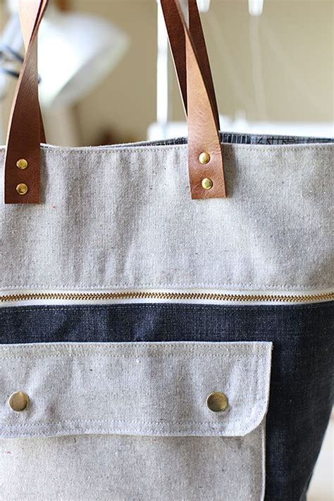 quilting leather tutorial how to install rivets use them in your next bag sew