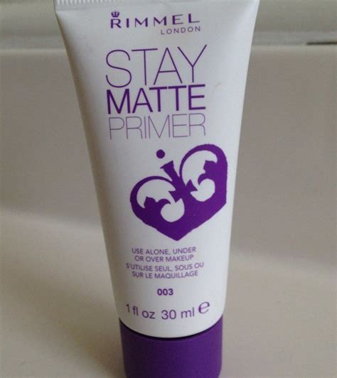 Review Rimmel Stay Matte Primer rimmel stay matte primer review