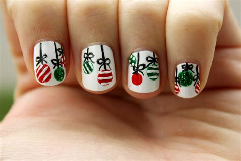 easy christmas nail art sunshine citizen