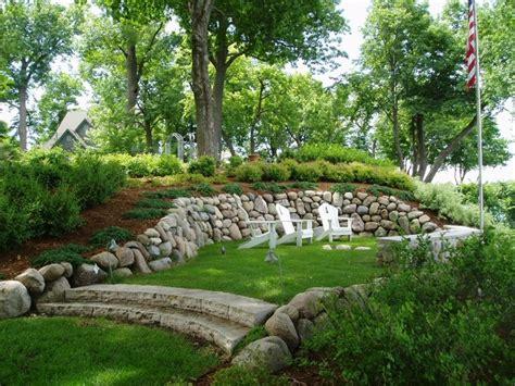 landscaping mound ideas image mag