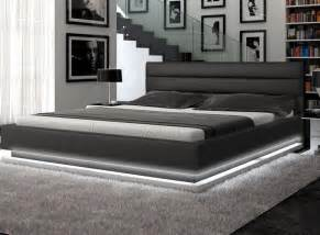 Platform Bed With Lights Infinity Platform Bed With Lights