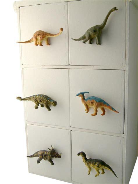 Childrens Cupboard - childrens dinosaur cupboard or drawer raptor