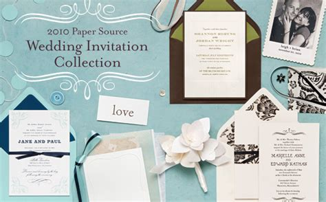 Paper Source Paper Wedding by Introducing The 2010 Paper Source Wedding Invitation