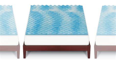 kohls bed toppers kohls cyber monday the big one gel memory foam mattress