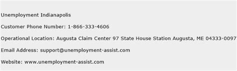 Phone Number For Unemployment Office by Unemployment Indianapolis Customer Service Phone Number