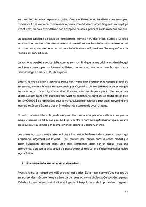 ISCOM 2016 - Mémoire Communication de crise et reseaux sociaux