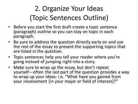 Can I Repeats Segments From My Essay In Mba by Writing The Uc Personal Statement Ppt