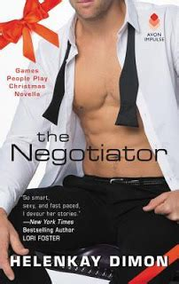 negotiator the a play novella avon impulse play books the eater of books review the negotiator by helenkay dimon