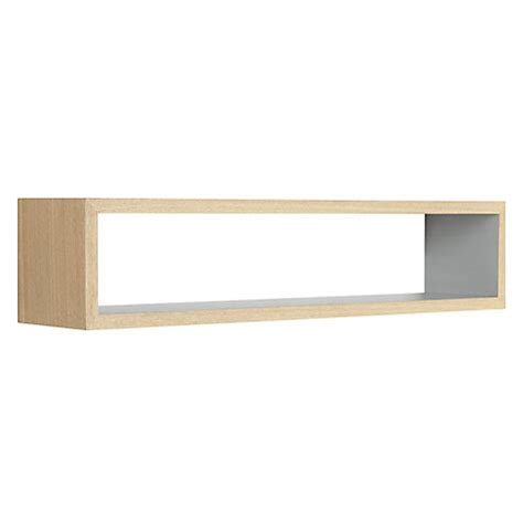 rectangle wall shelf buy design project by john lewis no 008 rectangular