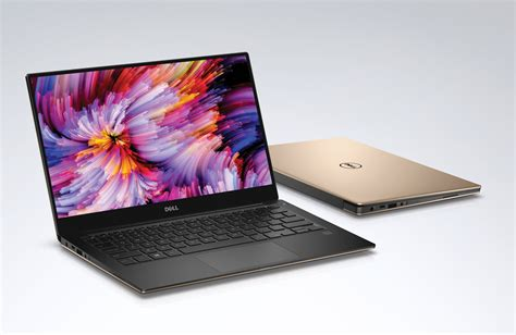 color laptops dell introduces xps and inspiron laptops with windows 10