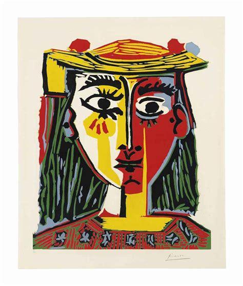 Pablo Picasso Also Search For Pablo Picasso Buste De Femme Au Chapeau Christie S