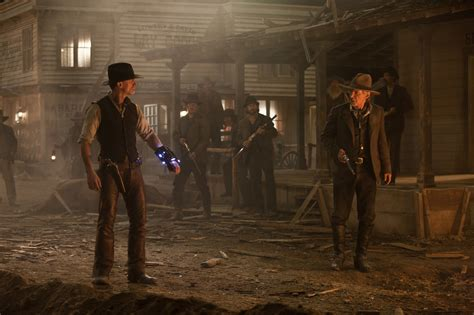 film cowboy robot cowboys aliens movie images daniel craig harrison ford