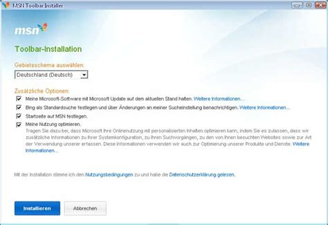 bing bar bing browser toolbar mit msn news und msn toolbar download