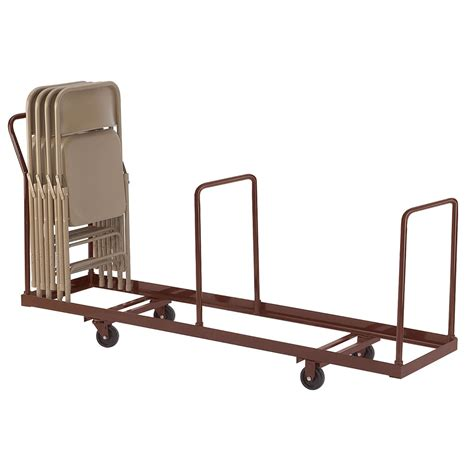 Folding Chair Cart by National Seating Standing Folding Chair Truck Dolly