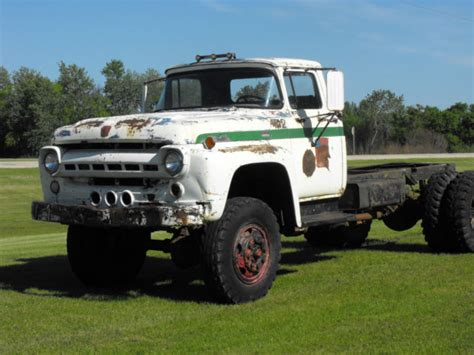 1957 ford truck for sale 1957 ford f800 big all wheel drive vintage