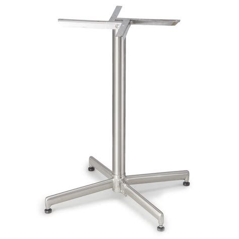rocksteady stainless steel table base tablebases com