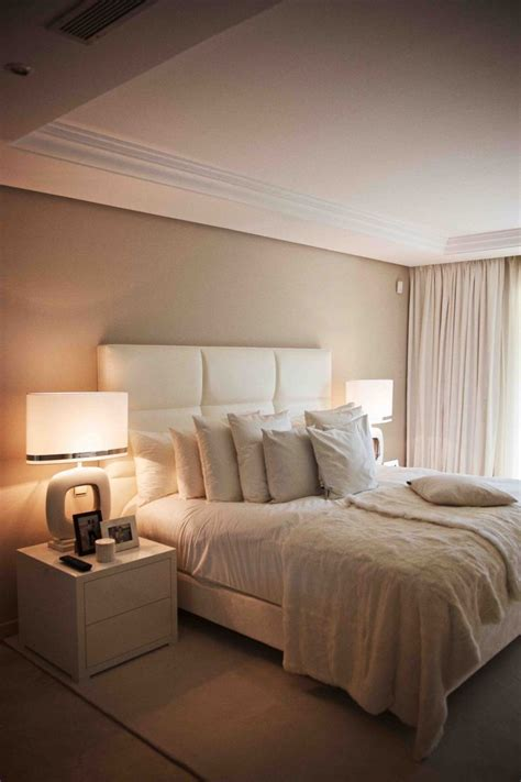 Beige Bedrooms by Spain Residence Photo S By Paul Barbera