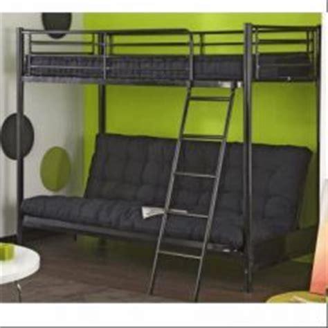 lit mezzanine avec canape lit mezzanine pour adolescent en promotion meubles