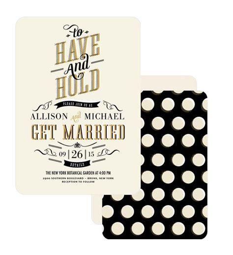 Hip Wedding Invitation Wording by Stylish Wedding Invitations Wedding Invitation Ideas