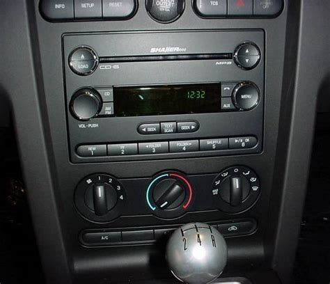 sound system for mustang 2005 ford mustang sound system
